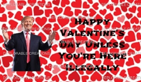 Donald Trump Valentine's Day Card