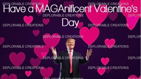 TRUMP VALENTINES DAY CARD