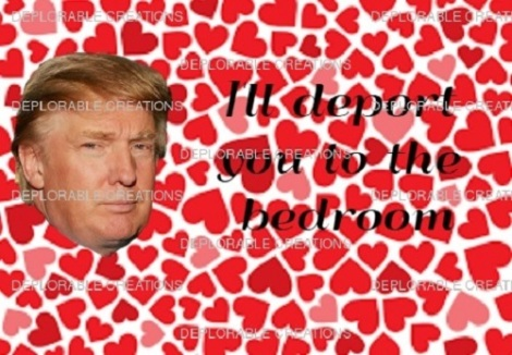 Trump Valentine's Day Card