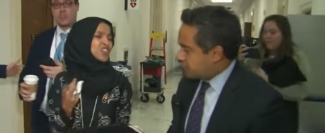 """Ilhan Omar tells CNN reporter """"What is wrong with you?"""""""